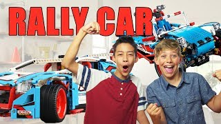 LEGO Technic Rally Car & Buggy Unboxing - The Build Zone
