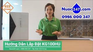 Kangaroo Hydrogen #KG100HU - Hướng dẫn lắp đặt Máy lọc nước nhỏ - giá rẻ lọc phèn mặn Uống trực tiếp