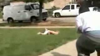 Funny Kid accident