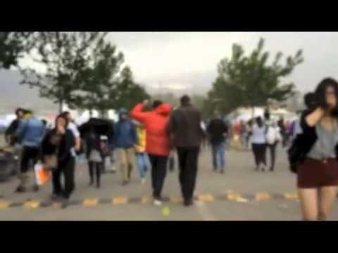 Dramatic Sandstorm Hits Day 2 of Beijing's Midi Music Festival
