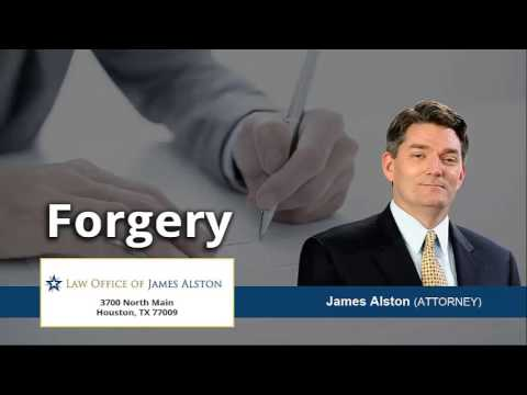 The Penalties For A Conviction Of Forgery In Texas | (713) 714-0481