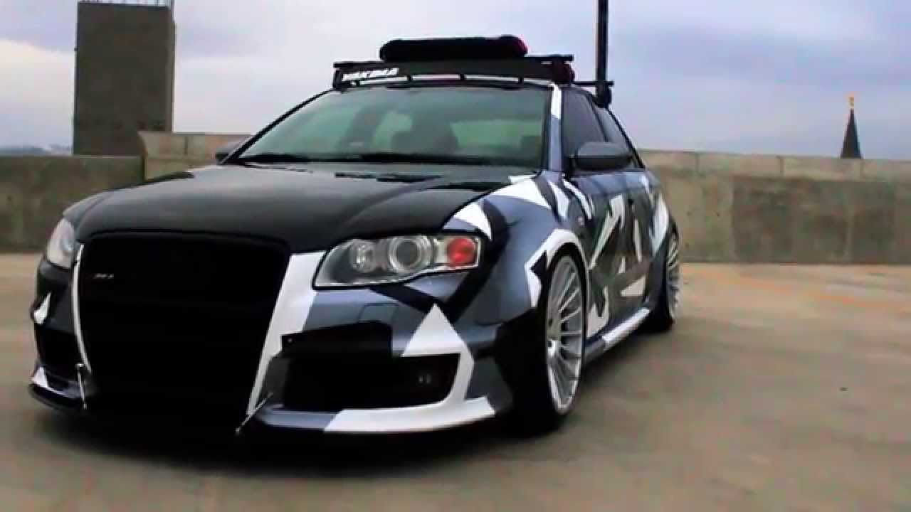 RS4 CAMO by: RS_FouRyan - YouTube