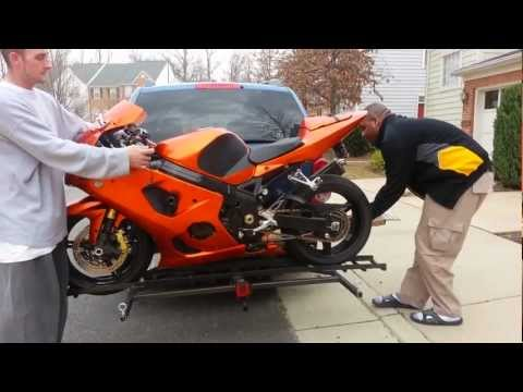how to build a motorcycle stand