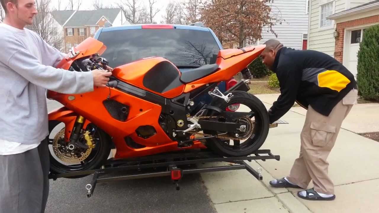 How To Build A Motorcycle Carrier Youtube
