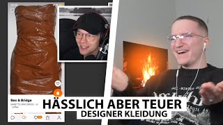 Justin reagiert auf Saschas unnötige Designer Outfits.. | Reaktion