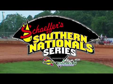 Southern Nationals Qualifying @ 411 Motor Speedway July 17, 2018