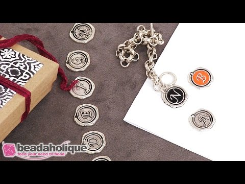 How to Add Patina to a Wax Stamp Style Charm