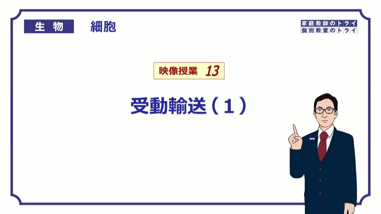 高校生物】 細胞13 受動輸送(1)(11分) - YouTube