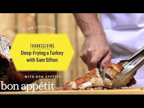 Deep-Frying a Turkey With Sam Sifton - YouTube