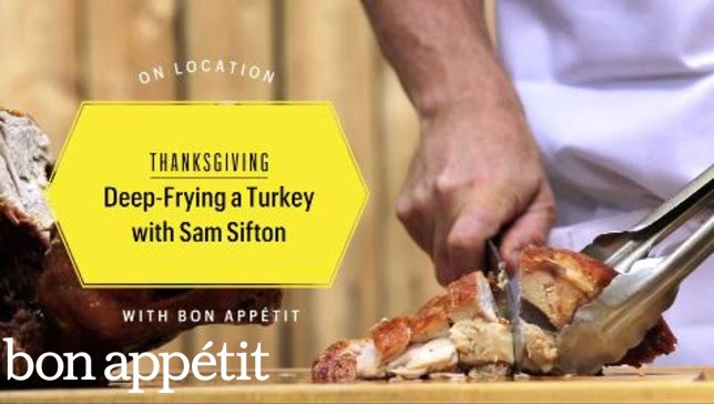 Deep-Frying a Turkey With Sam Sifton