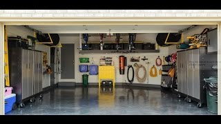 Garage Makeover: The Floor (Full Video)