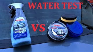 SONAX Test BSD vs Xtreme Wax