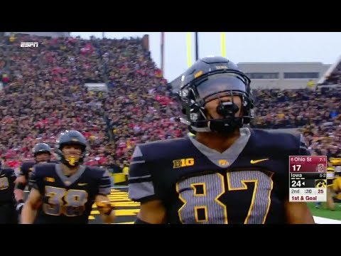 Ohio State vs Iowa Football 2017 Highlights
