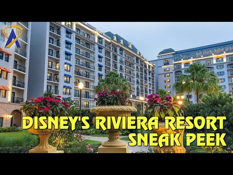 Sneak Preview of Disney's Riviera Resort, a Disney Vacation Club Resort