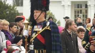 Combi Orchestra  of Scottish Pipers and Drummers ( Army Bagpipe Music) FINALE