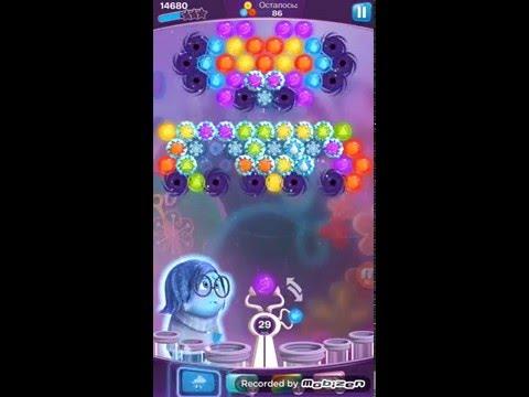 Как пройти 123 Головоломка шарики за ролики? Disney Inside Out Thought Bubbles - Level 123