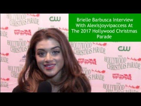 Shameless Star Brielle Barbusca   Alexisjoyvipaccess  2017 Hollywood Christmas Parade