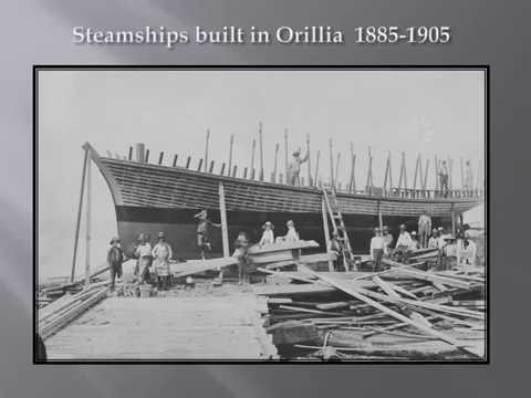 Boat Building on Orillia's Waterfront