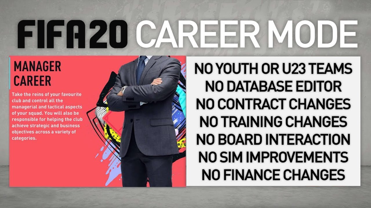 IS FIFA 20 CAREER MODE SAVED?! MY REAL THOUGHTS ON THE NEW FEATURES! thumbnail