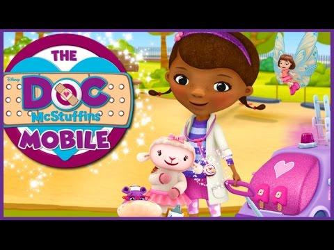 Doc McStuffins Full Game Episode - The Doc McStuffins Mobile - Games For Kids