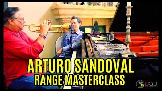Arturo Sandoval - Range and Fundamentals Master Class Video