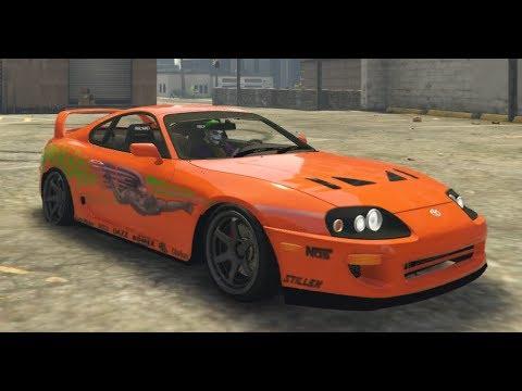 GTA 5 - Quelle est la voiture la plus rapide des Fast & Furious ?