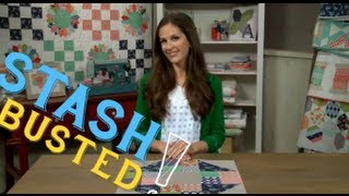 Stash Busters | Patchwork Quilt Block Ideas with Camille Roskelley, Quilter and Designer