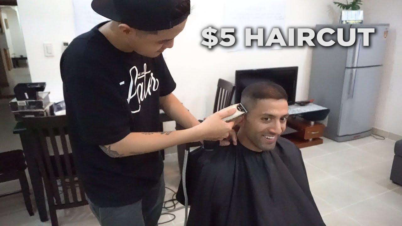 5 Home Haircut In Ho Chi Minh City Youtube
