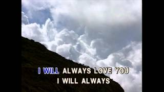 I Will Always Love You - Kenny Rogers (Karaoke Cover)