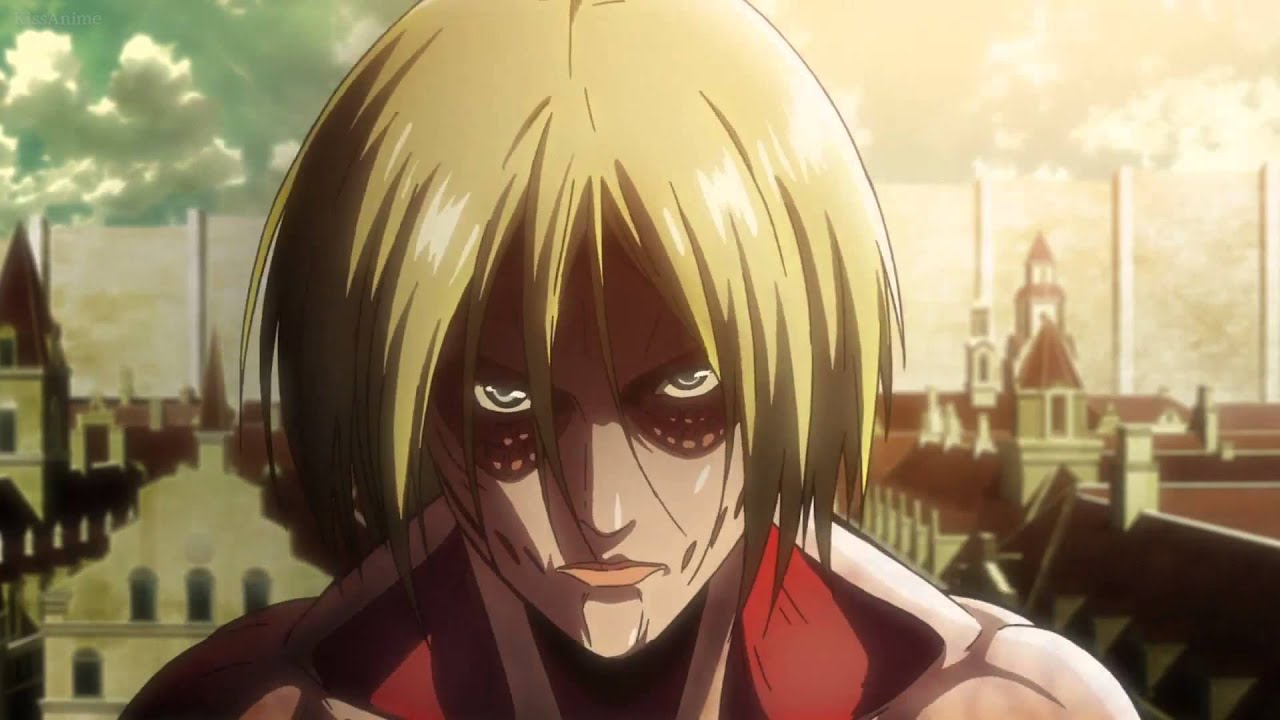 Attack on titan episode 24 female titan fight scenes shingeki no its youtube uninterrupted voltagebd Image collections