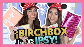 BIRCHBOX VS IPSY EDICION DISNEY! | {JUNIO 2017} thumbnail