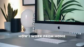 How I Work From Home   Daily Routine