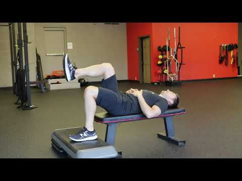 Supine Hip Extension Drill