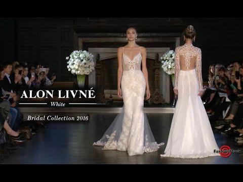 Alon Livine White FW16 - Bridal Runway Fashion Show in NYC - 4 cam Edit by FashionStock team