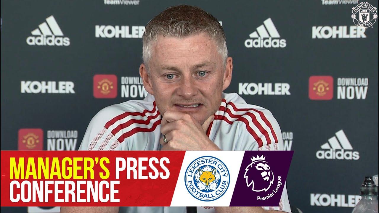 Download Manager's Press Conference | Leicester City v Manchester United | Ole Gunnar Solskjaer