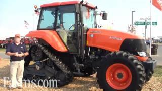 New Kubota Tracked M Series Tractors at the Farm Progress Show.  M126X