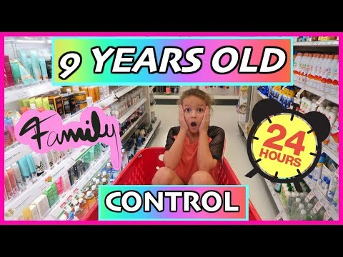 9 YEARS OLD CONTROL THE FAMILY FOR 24 HOURS | SISTER FOREVER