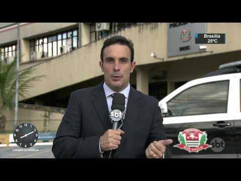 Polícia prende quadrilha que vendia assinatura de TV a cabo clandestina - SBT Brasil (22/03/17)