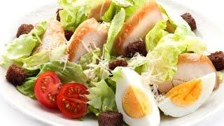 Салат цезарь с курицей рецепты