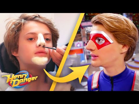 Henry Danger | BTS Kid Danger Transformation | Nick