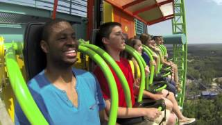 Zumanjaro: Drop of Doom - Tallest Drop Ride in the World!