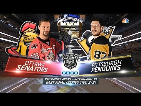 2017 Stanley Cup Playoffs, Eastern Conference Final: Penguins vs. Senators (Game 5, 5/21/2017)
