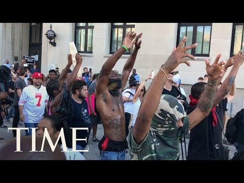 Dozens Arrested During St. Louis Protests By Riot Police, More Peaceful Protests Planned   TIME