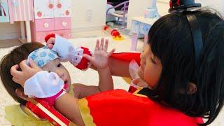【ご報告あり!】風邪をひいた赤ちゃんのお世話 初めてのお熱 アンパンマン熱さまシート お薬で看病!