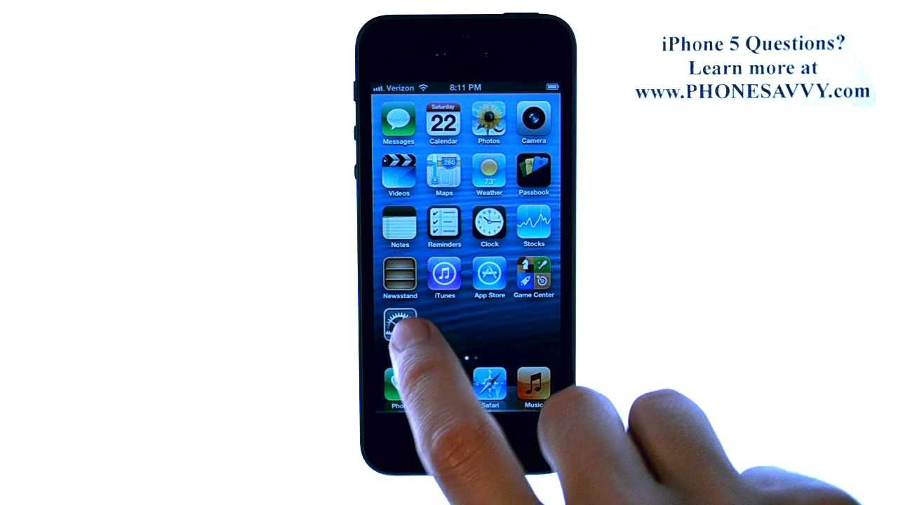 how to change yahoo password on iphone 5