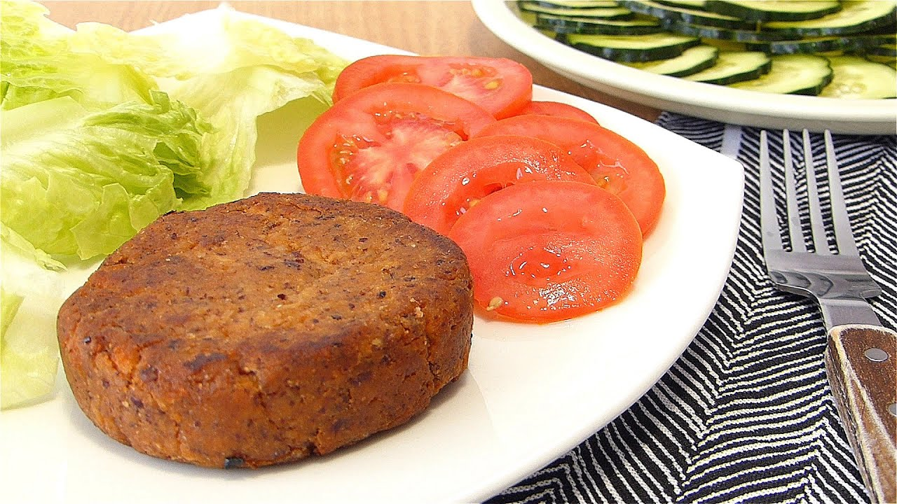 Hamburguesa vegana (vegan burger) 🍔 Recetas 100% Veganas
