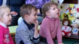 Занятие по развитию речи в младшей группе, звук у.