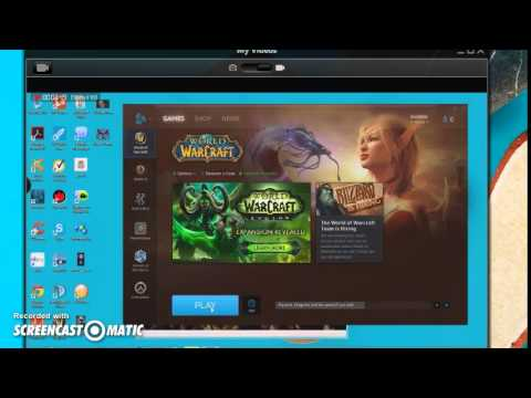 world of warcraft chat room in paltalk - YouTube