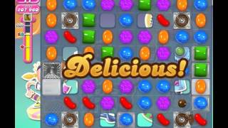 Candy Crush Saga Level 1211 (No booster, 3 Stars)