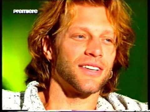 Jon Bon Jovi PREMIERE (german TV channel) Interview from 1994-Part 1